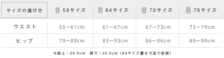 Sサイズ、Mサイズ、Lサイズ、LLサイズ