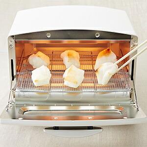 グリルネット使用例1_焼き餅
