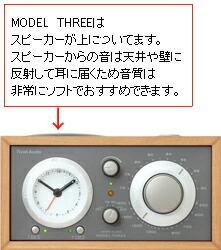 Model Three (ウォールナット)