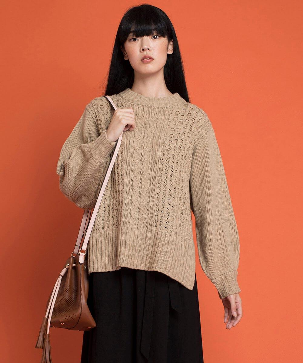 aimoha のトップス/ニット・セーター|BEIGE