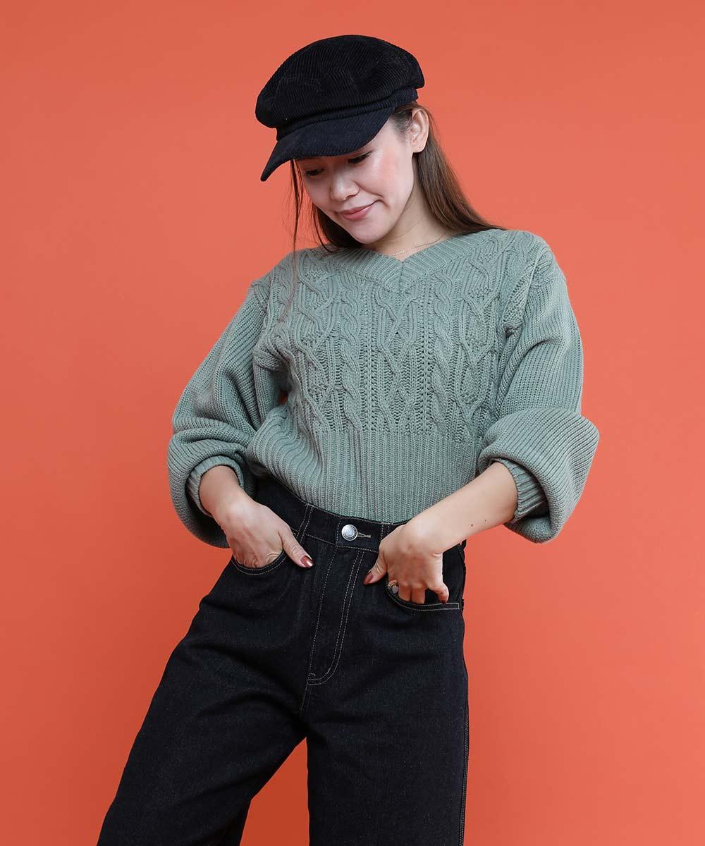 aimoha のトップス/ニット・セーター|KHAKI