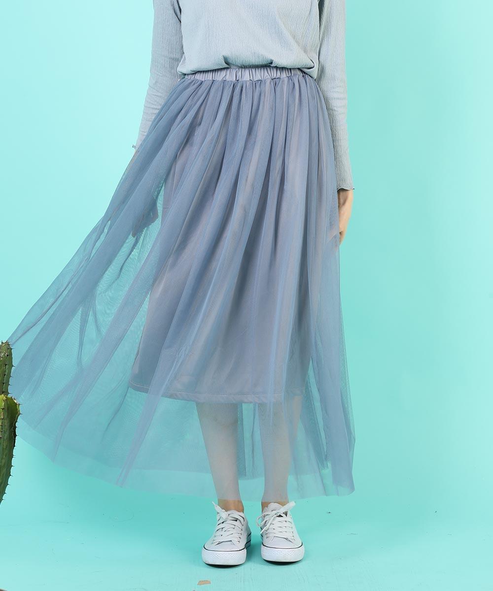 aimoha のスカート/ロングスカート BLUE