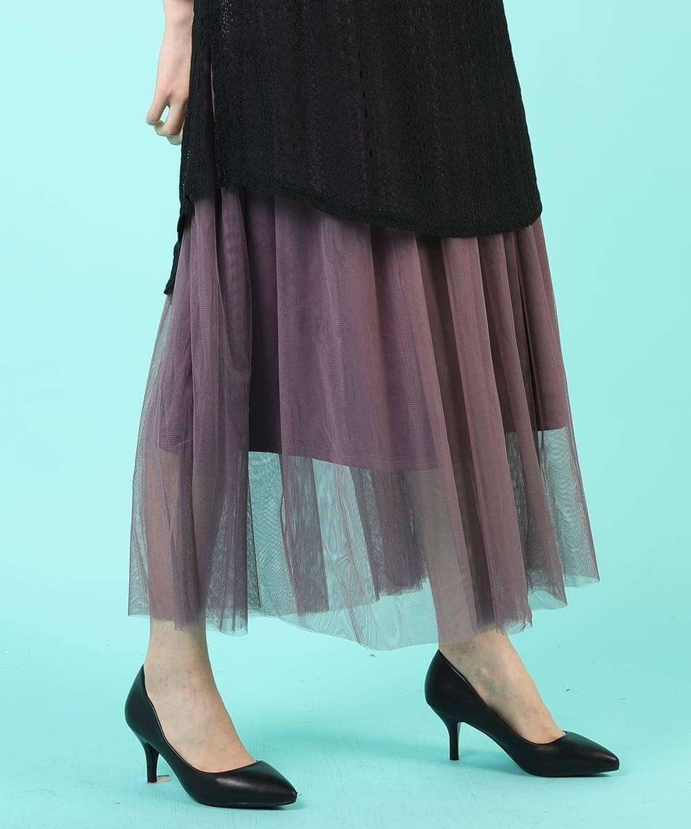aimoha のスカート/ロングスカート PURPLE