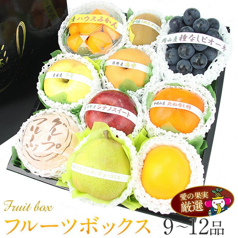 季節のフルーツボックス(黒ぶどう入)