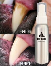 ペットの口腔衛生にデンタシュア、ブレスケア