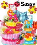 大人気Sassyおむつケーキ