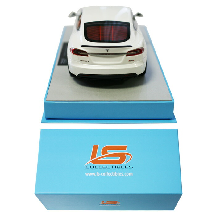TOPMARQUES1/18scaleTeslaModelSfacelift2016white[No.TOPLS028J]