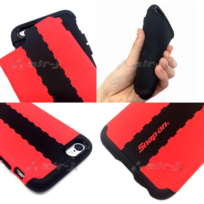 Snap-on (スナップ オン) 公式ライセンス iPhone6 専用 背面 ケース PU素材 衝撃吸収 耐衝撃 丈夫 【SO-GA47】