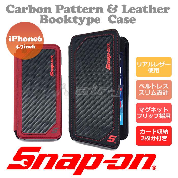 snap-on公式ライセンス品iPhone6s/6手帳型ケース