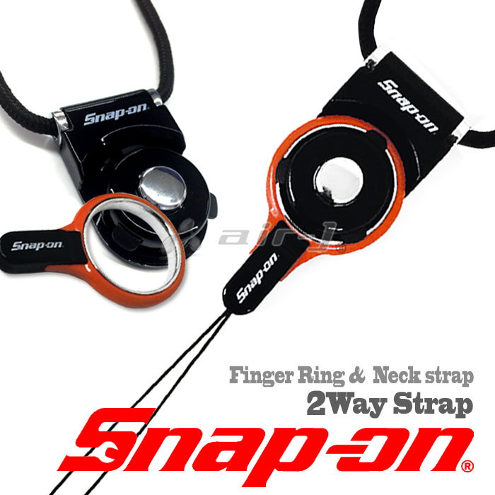 snap-on公式ライセンス品ネックストラップ
