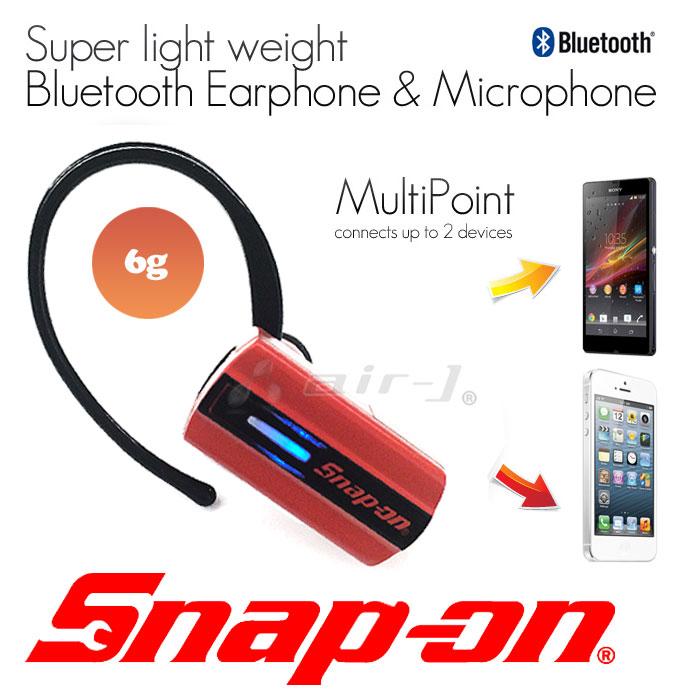 snap-on公式ライセンス品Bluetoothイヤホンマイク