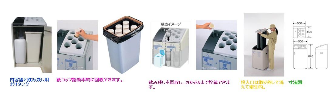 内容器と飲み残し用ポリタンク