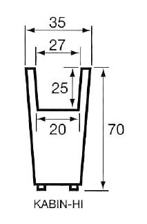 大型プランター カビン