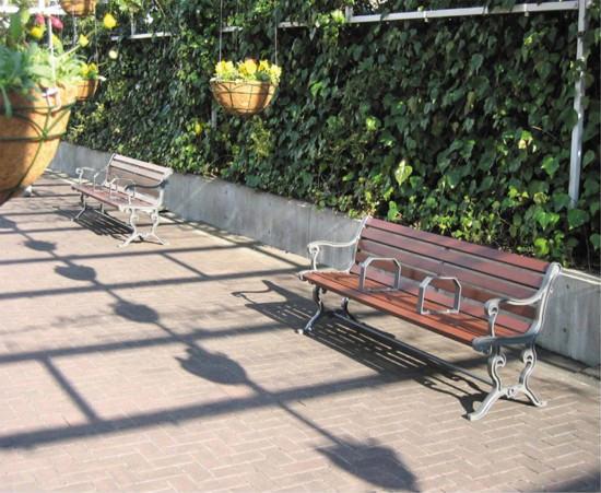 木製ベンチーシート】ショッピングモールや各屋内施設に最適です。