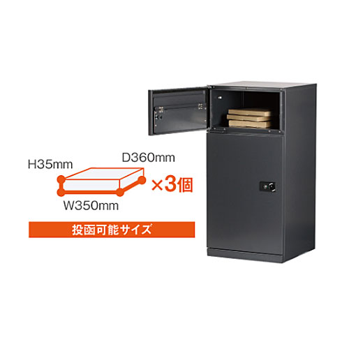 ポスト投函部