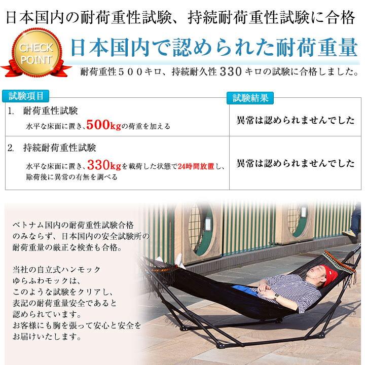 日本国内で認められた対荷重量