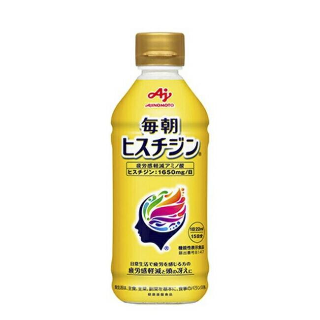 「毎朝ヒスチジン」330ml入ボトル×2本/箱