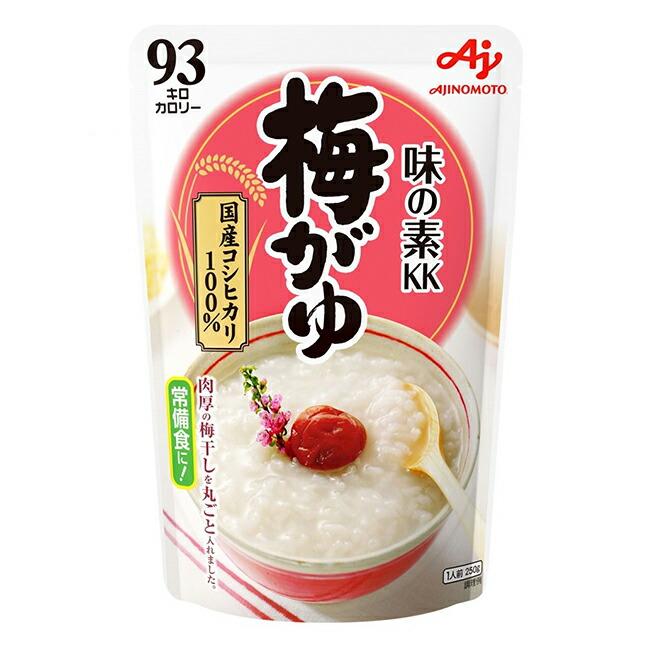 「味の素KK おかゆ」梅がゆ