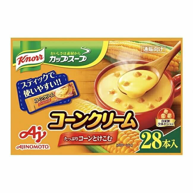 「クノール カップスープ」コーンクリーム28本入
