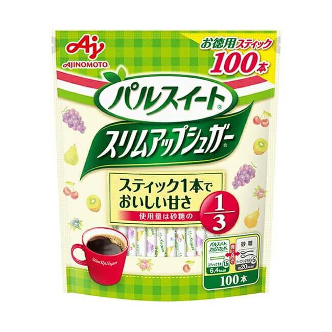「パルスイート スリムアップシュガー」100本入