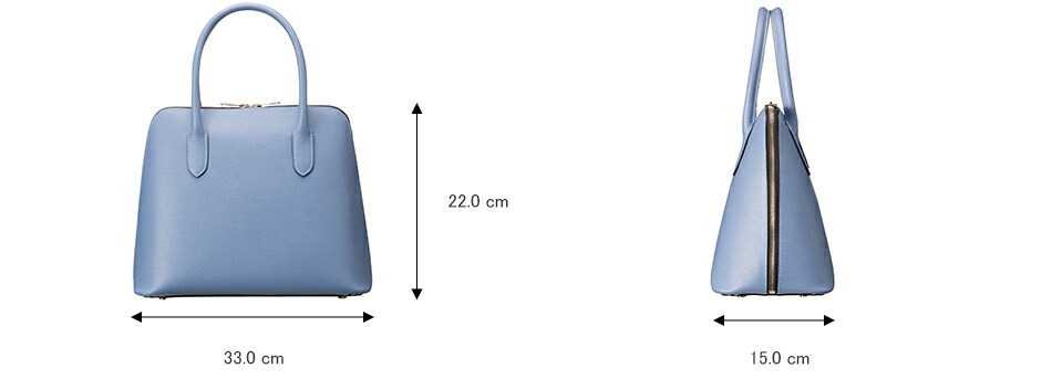 epoi エポイ 日本製 レザー レディース バッグ ブガッティ ハンドバッグ グレー グレージュ ブルー ネイビー