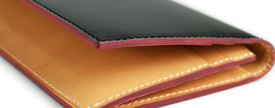 super popular 476e2 a59e2 【GANZO】 ガンゾ Cordovan コードバン 財布 日本製 メンズ さいふ サイフ 長財布 レザー 馬革 ファスナー付き ブラック  ダークグリーン ダークブラウン ネイビー|AJIOKA
