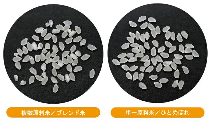 米粒の比較