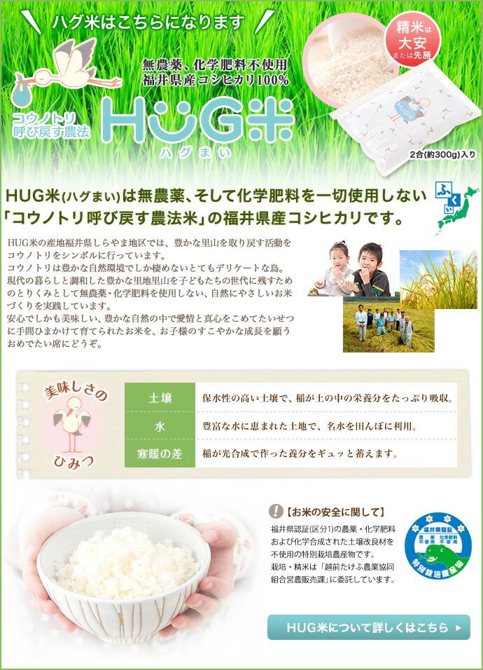 HUG米について