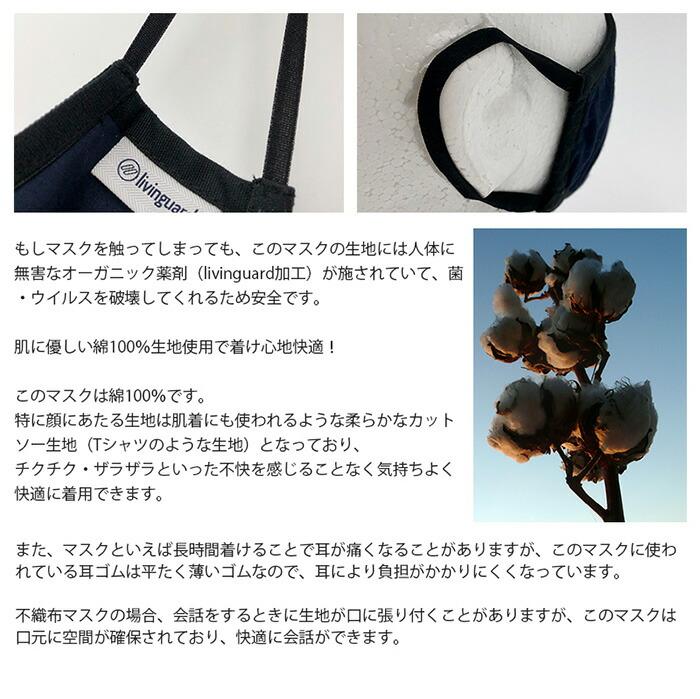 N95 リビングガード アンチウイルスマスク