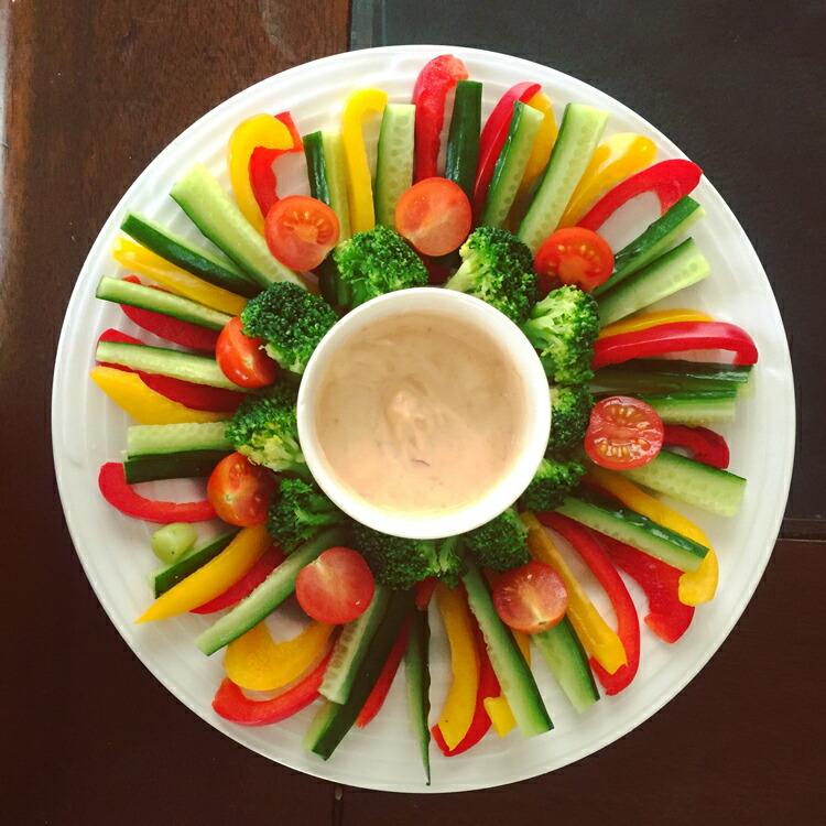 野菜スティック味噌
