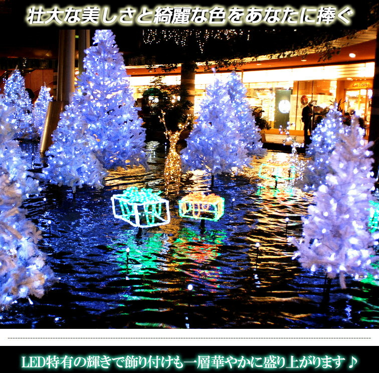led illuminated 10 m 100 bulb christmas lights lit pattern number 8 mode flashing switch green 360 degree light emitting bindable defense drops