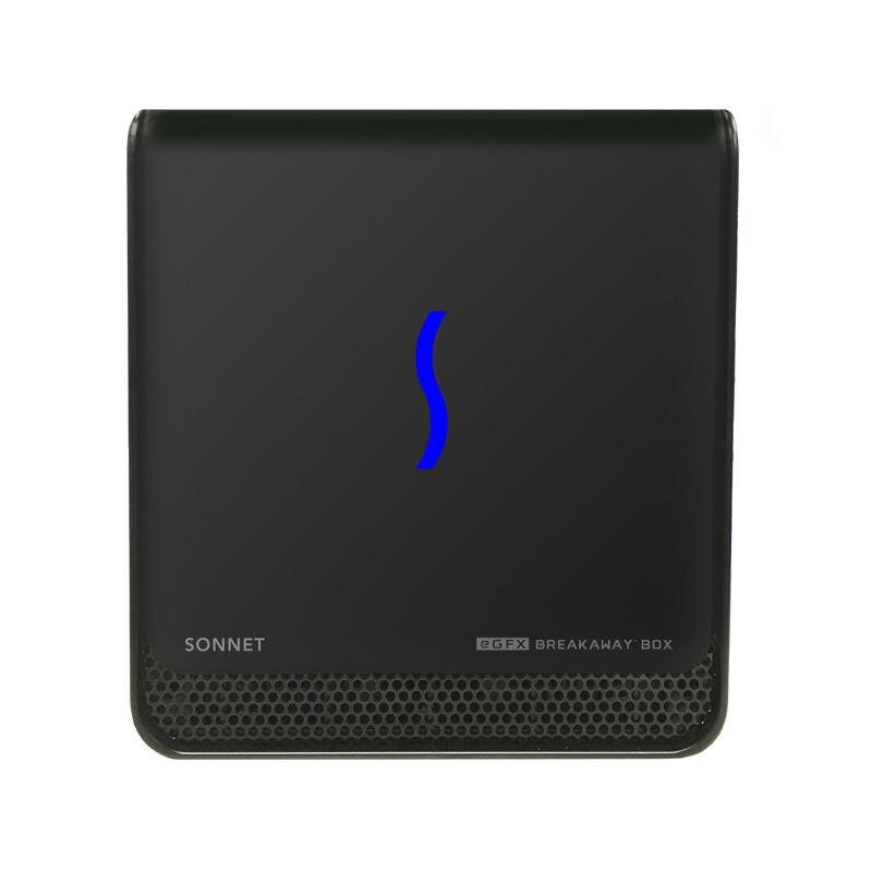 秋葉館オリジナル Sonnet eGFX Breakaway Box 550 RADEON RX580 [GPU-550W-TB3Z-RX580]