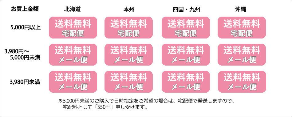 【送料込みプラン】【3,980円以上 送料無料】