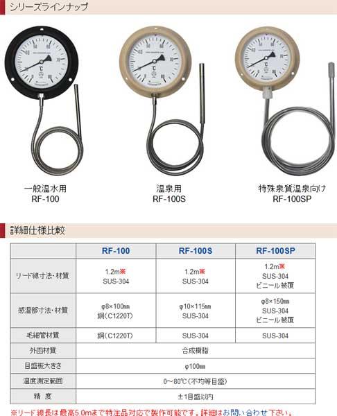 業務用お風呂温度計RF100シリーズ