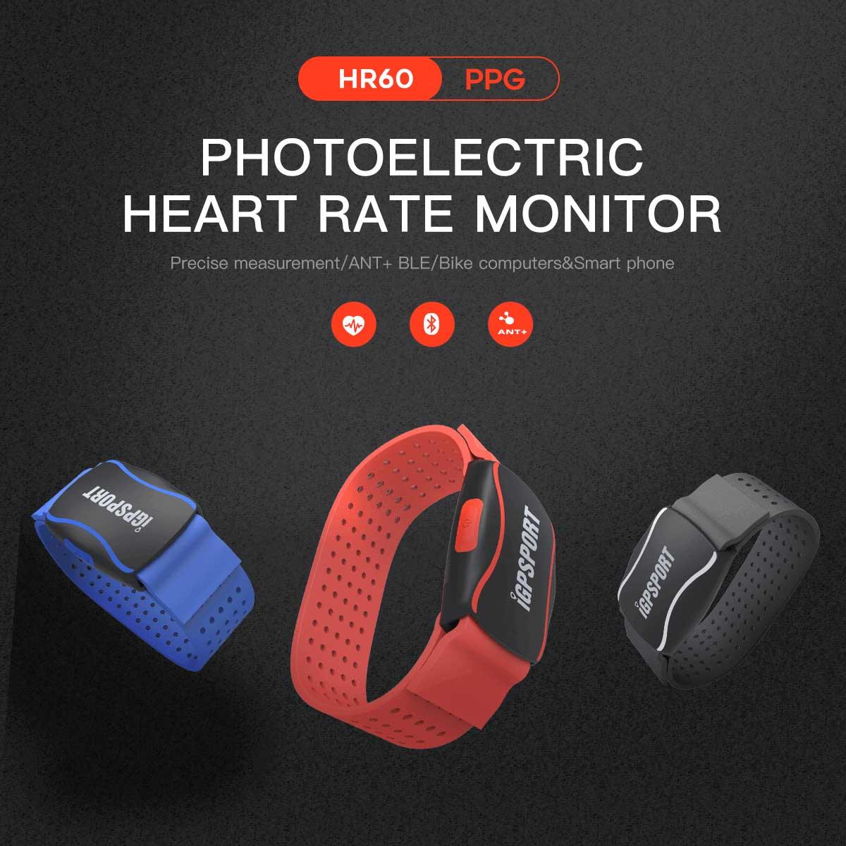 正確な光学センサー技で測定する心拍計