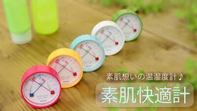 エンペックス素肌快適計(温度湿度計)