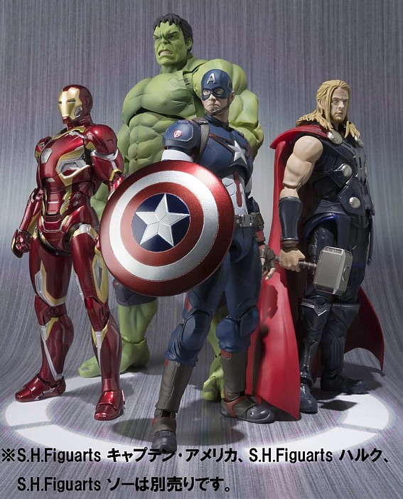 S.H.フィギュアーツ 『Avengers:Age of Ultron』より アイアンマン マーク45