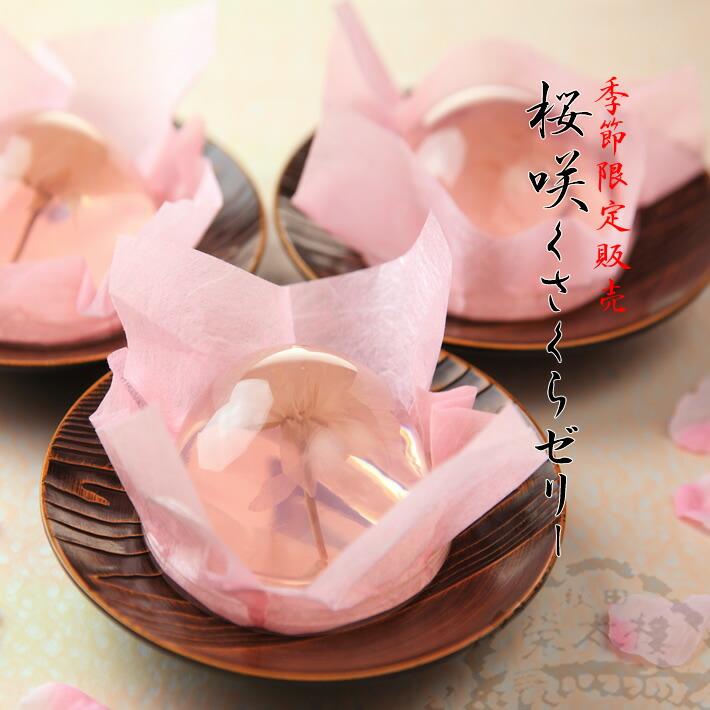 菓子舗榮太楼『桜咲くさくらゼリー』