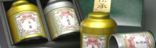 レトロ缶銘茶ギフトセット