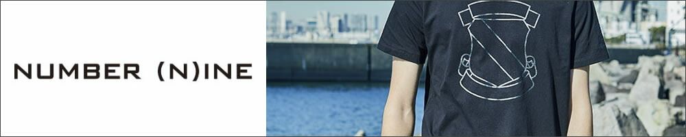 人気デザインNUMBER (N)INE【ナンバーナイン】EMBLEM_T-SHIRT Tシャツ