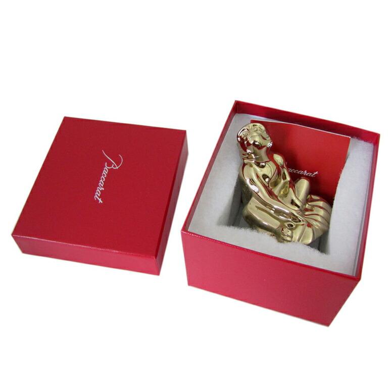 バカラ Baccarat クリスタル フィギュア ゾディアック 2016年 干支 申(猿) サル ゴールド 2809166 【smtb-MS】【あす楽対応】