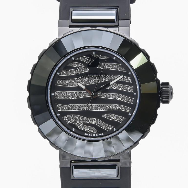 スワロフスキー SWAROVSKI 腕時計 NEW OCTEA SPORT ZEBRA レディース ブラック 5040563
