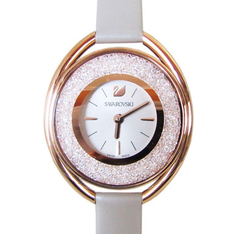 スワロフスキー SWAROVSKI 腕時計 CRYSTALLINE OVAL ROSE GOLD TONE レディース クリスタルライン オーバル ローズゴールド 5158544 【smtb-MS】【あす楽対応】