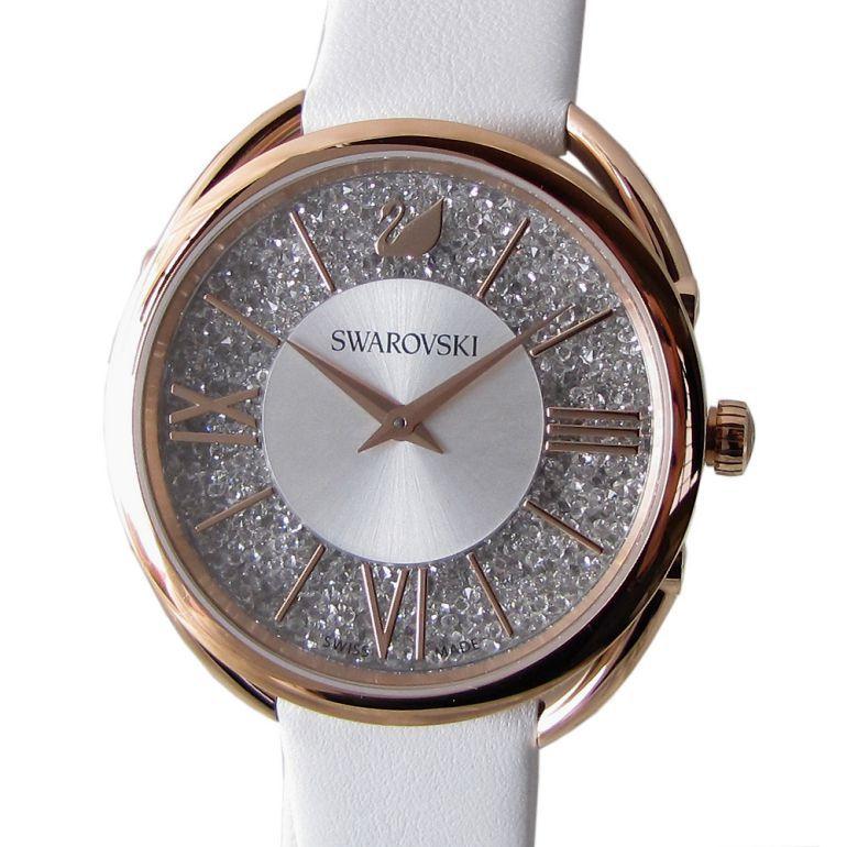 スワロフスキー 腕時計 Crystalline Glam ウォッチ ピンクゴールド ホワイト 5452459