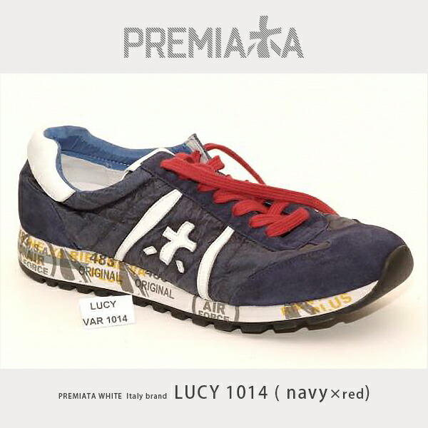 PREMIATA WHITE プレミアータホワイト lucy1014