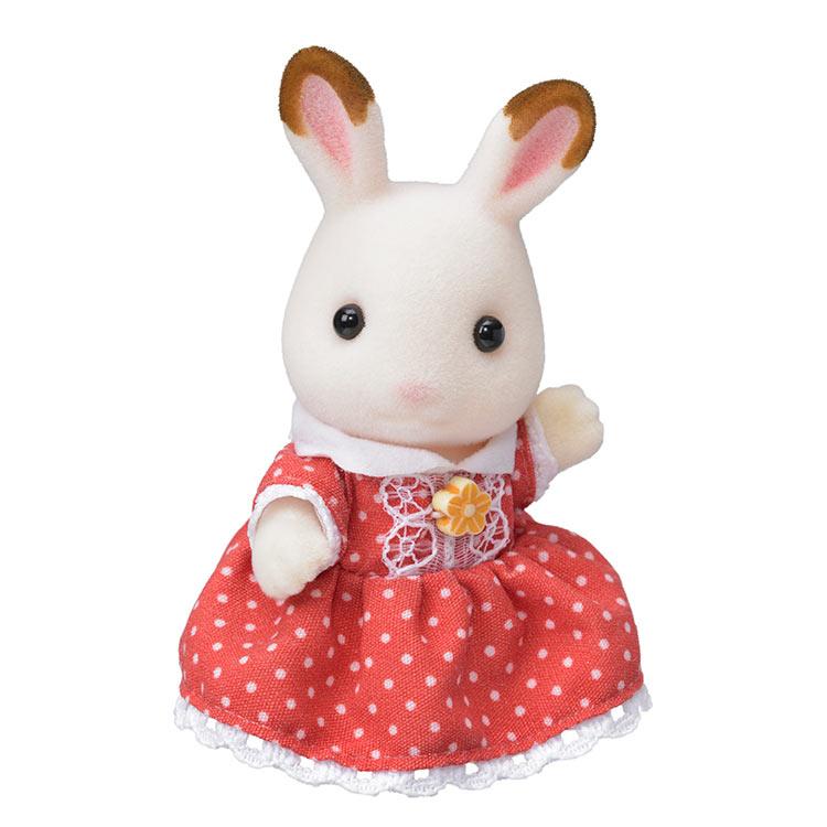 ウ-64 シルバニアファミリー ショコラウサギの女の子