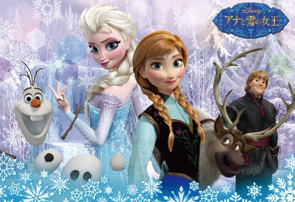TEN-DC60-078 ディズニー アナと雪の女王(アナと雪の女王) 60ピース