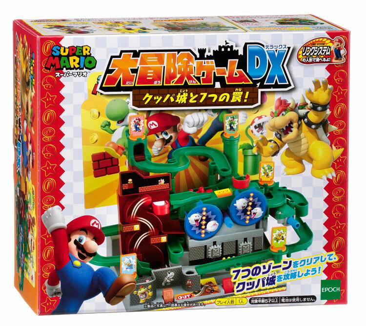 EPT-06394 スーパーマリオ 大冒険ゲームDX クッパ城と7つの罠!