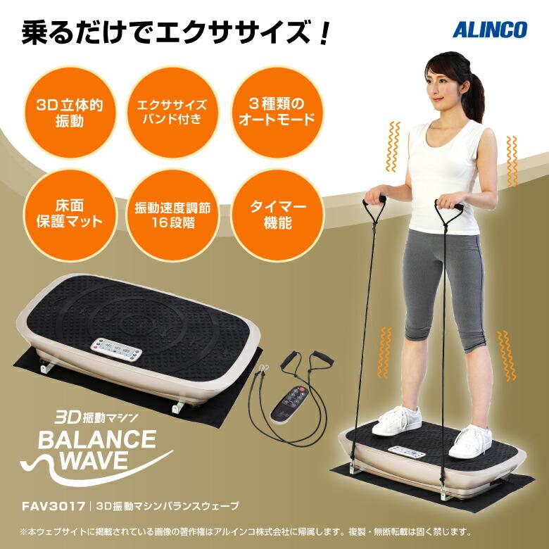 3D振動マシン バランスウェーブ/FAV3017_01