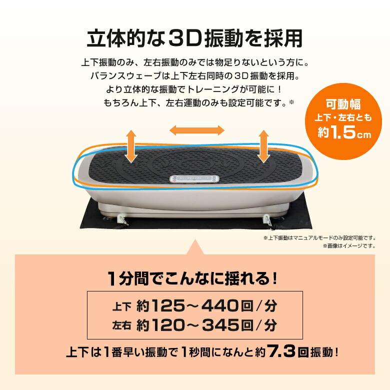 3D振動マシン バランスウェーブ/FAV3017_03